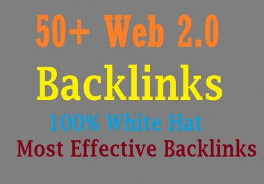Get 50 Web 2.0 Blog Of Highest Quality & Most Effective Link Building