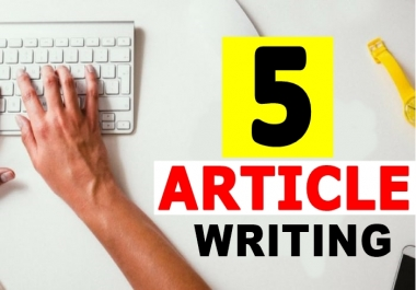 BEST ARTICLE WRITER  Write 2  ORIGINAL  400+ Words SEO Optimized QUALITY ARTICLE For FRESH Blog Post
