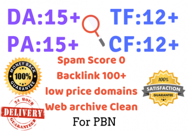 Research 6 Expired Domain With High Metrics