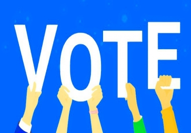 supply you 130 genuine votes to any website contest link