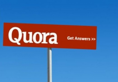 Promote your sell with high quality 3 quora answers