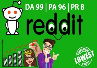Publish A Guest Blog Post On Reddit.com