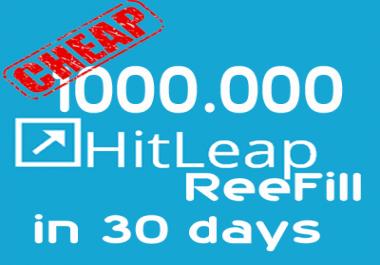 Cheap Refilling 1M Minutes Regular Ac Hitleap in 30 days