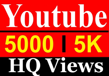 5000 Vieews High Quality Fully Safe Instant Start