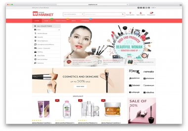 Create Wordpress E-Commerce Webiste