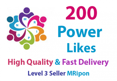 Get Instant High Quality Real Social Power Likes Promotion