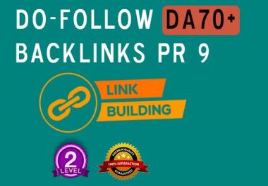10 - High Domain Authority Links (DA70+)