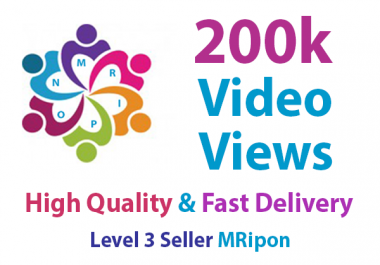 Add Instant High Quality Real Non-drop Social Video Views