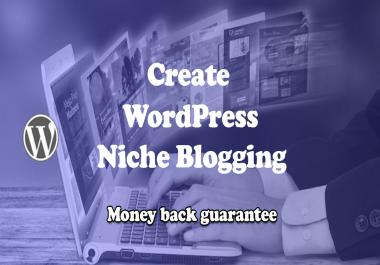 Build SEO friendly Blogging website via WordPress
