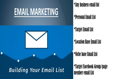 Collecting 20000 emails of target customer for small/big Business