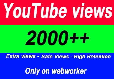 1000-1600 YouTube Views with extra service 1000 1k 2k 3k 4k 5k 6k 7k 8k 9k 10K 15K 20K 25K 40K 50K 100K Or 3000 4000 5000 6000 7000 8000 9000 10000 20000 30000 40000 200K 500K