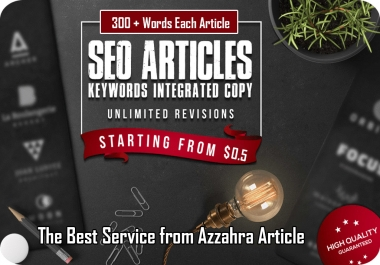I Will Create an Article 500 words Pass Copyscape and SEO Optimized