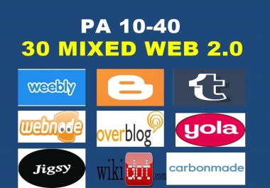 Register 5 Mixed Expired Web 2.0 High PA