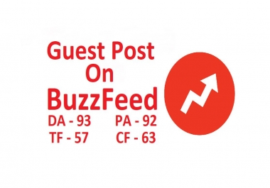 Write and Publish Guest Post On BuzzFeed With DoFollow Link