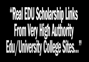 ADVANCE SEO EDU & GOV Backlinks Package | 50 High Authority Websites Having DA up to 95