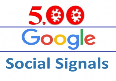 Google Social Signals- Powerful 500 Google plus- One/Vote & Share HQ Monster Pack improving website Google Ranking Factors