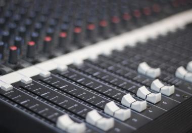 Mix your track/audio