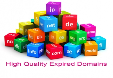 Get 20+ High Metric PBN Expired Domains