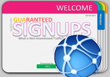 Drive 25+ Human Organic SignUps To Your URL