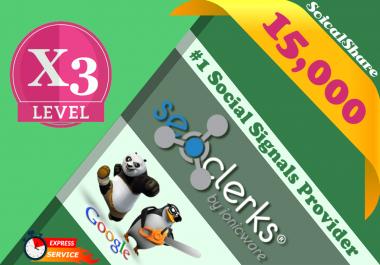 15,000 PR9 Pinterest SEO Social Signals Share Bookmarks Important Google Ranking Factors