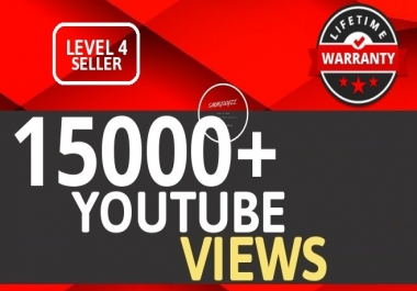 15000+ YouTube VIEWS HIGH RETENTION And Instant Start Fully safe Guaranteed