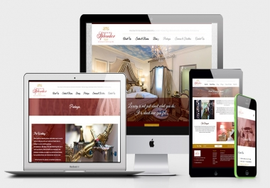 build mobile responsive website, landing page  in html5 bootstrap