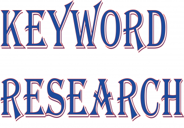 15 SEO Keyword Research yours website. Very fast give you