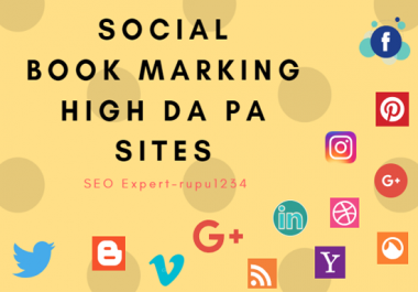Advertise your websites by bookmarking on 20 social sites