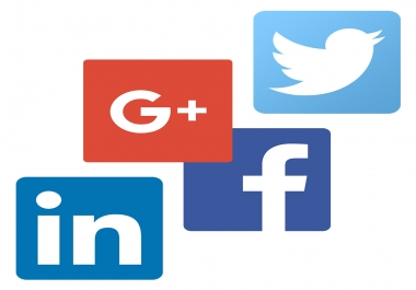 Promote Your Business on  powerful Social media  Backlinks