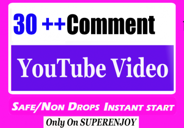 30 + YouTube Video Comment with extra service 1k 2k 3k 4k 5k 6k 7k 8k 9k 10K 15K 20K 25K 40K 50K 100K Or 1000 2000 3000 4000 10000 20000 30000 40000 200K 500K 1 Million views