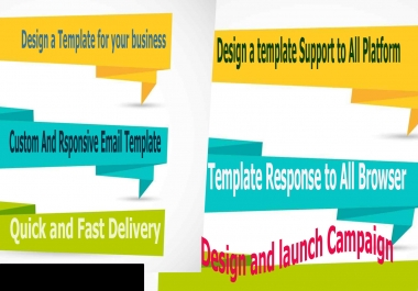 Design Email Template and Launch Email Campaign