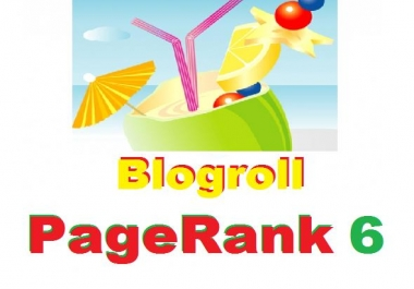 Add your links on my site 2xPR5 and 1xPR6 Blogroll Link Permanent