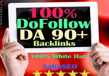Just DoFollow DA 80+ PR9 Top Quality30 Backlinks Obligate For SEO RANK