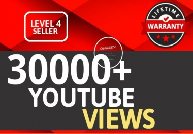 30000+ YouTube VIEWS HIGH RETENTION And Instant Start Fully safe Guaranteed