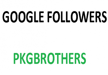 120 Google plus followers fast and permanent