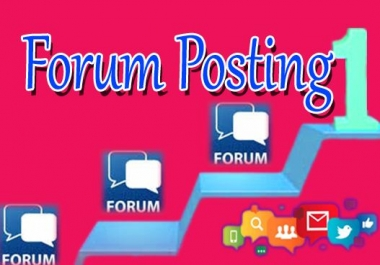 offer guaranteed 10 good quality forum posts