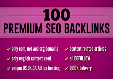 Create Do-follow 200 SEO Backlinks from high DA PA CF TF