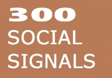300 SOCIAL SIGNALS SEO BACKLINK BOOKMARK SHARE TO HIGH PR PAGE RANK DA TA SOCIAL MEDIA SITE