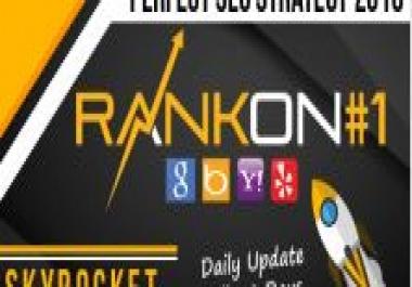 I shal rank your website on google Plus 25 SEO backlinks manually