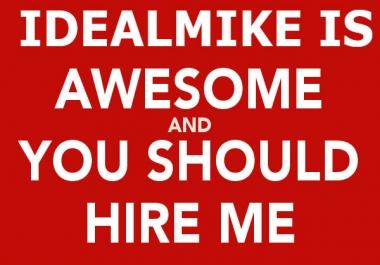 Custom service for Prestigious Client Professional SEO/SMM Expert for Hire