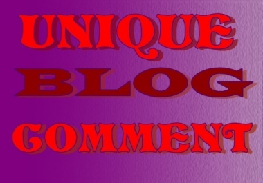 Provide High Quality 50 Blog Comments Submission