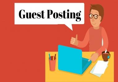 Guest post on DA 30 + general blog.