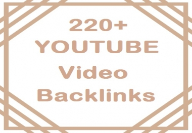 Per link 220 Manual Top social bookmarking for YouTube video Back links