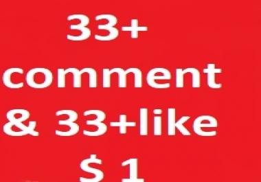 Lifetime Guarantee 33+ Manual youtube custom comments & 33+ youtube video like