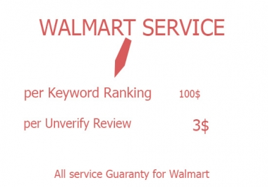 i can do Walmart Seo Keyword product Ranking each