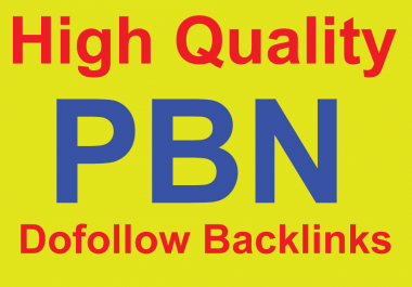 built 150+ DOFOLLOW High PR1-PR7 or DA 30+ Highly Authorized Google Dominating BACKLINKS for $5