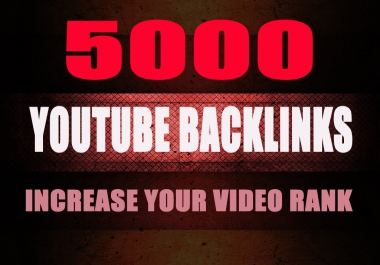 5000 SEO GSA Backlinks for Your Video