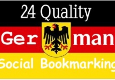 will do 24 german tld bookmarks submission to get permanent back links