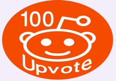 Provide You 100+ Real People Reddit Global Upvotes