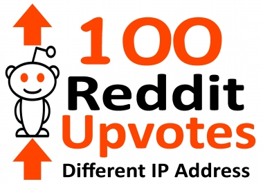 Give 100 Real Reddit Upvotes Using Different IP Address